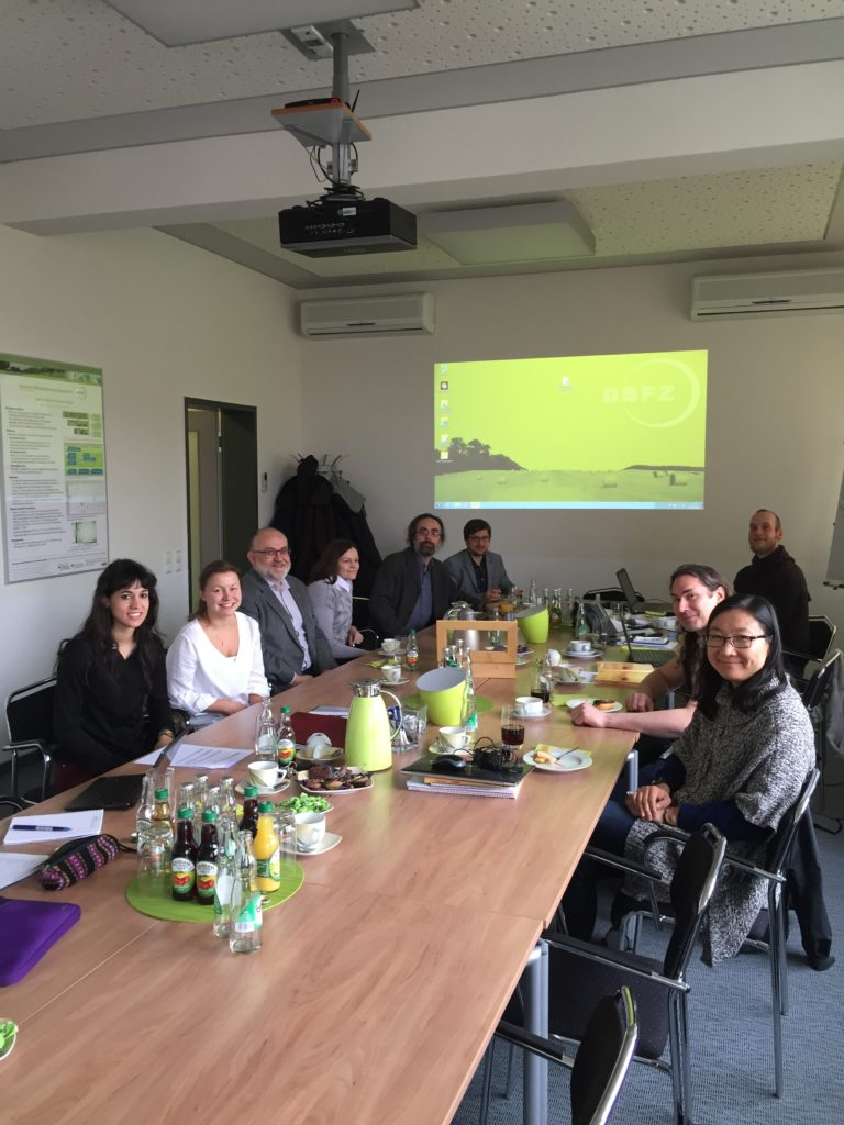 Picture from the latest project meeting in Leipzig, Germany.